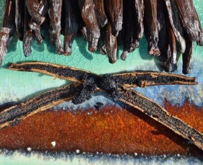 Vanilla pods from new Caledonia