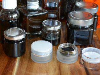 Extraits de vanille en flacons