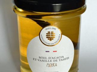 Miel d'acacia à la vanille de Tahiti
