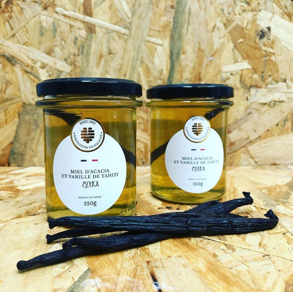 Miel d'acacia et vanille de Tahiti