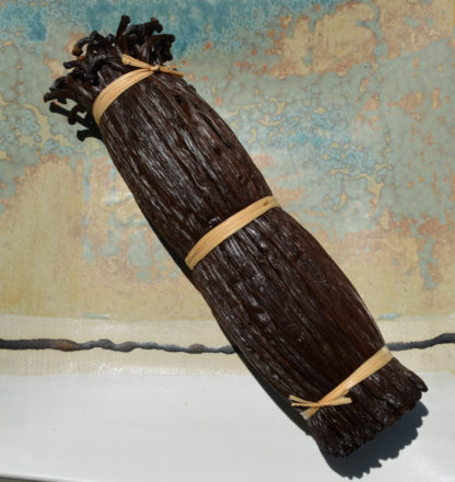 Gousses de vanille bio de La Réunion