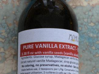 Extrait de vanille de Madagascar avec graines 100 ml