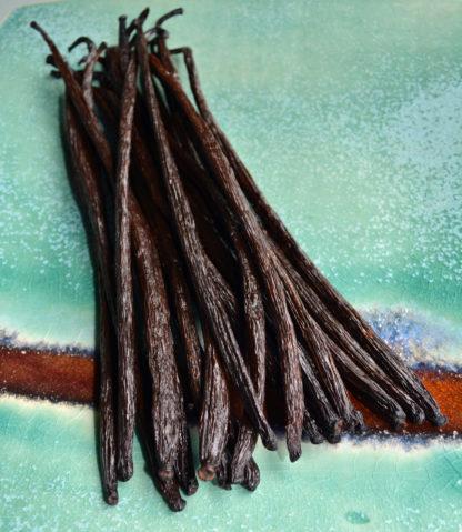 Grandes gousses de vanille du Sri Lanka chez Mohea