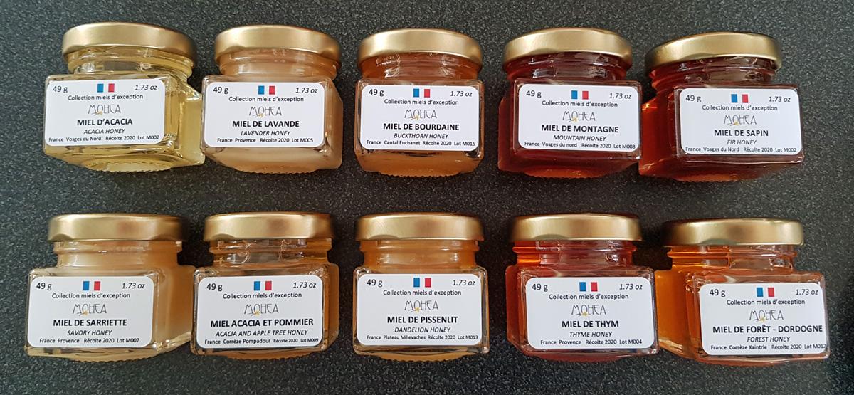 10 miels différents de France