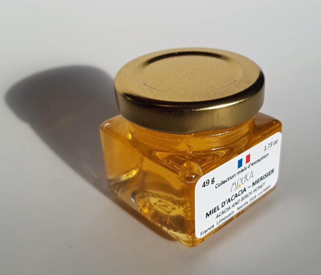 Miel d'acacia et de mérisier
