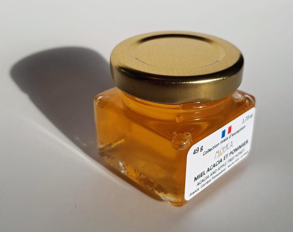 Miel Acacia et Pommier