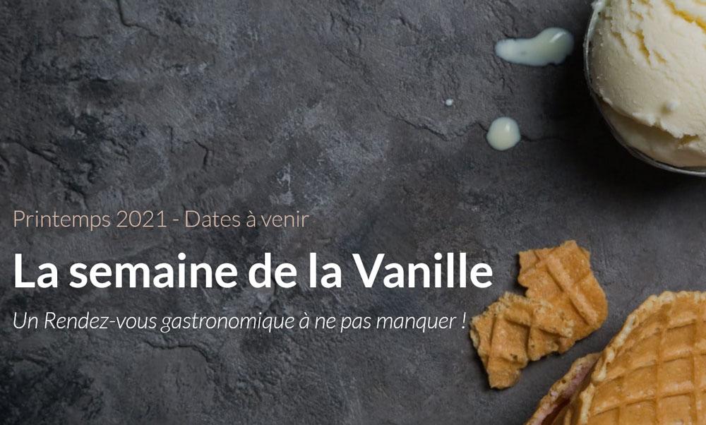 Semaine gastronomique de la vanille