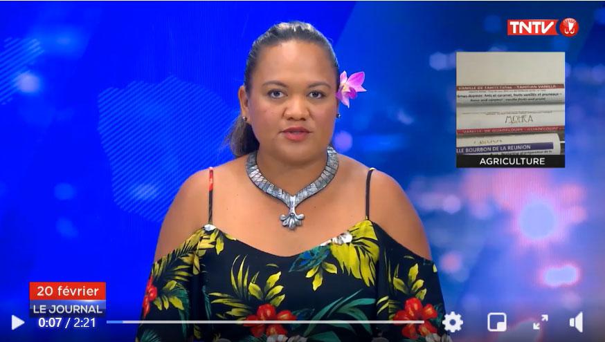 Reportage TNTV sur première conférence des vanilles françaises