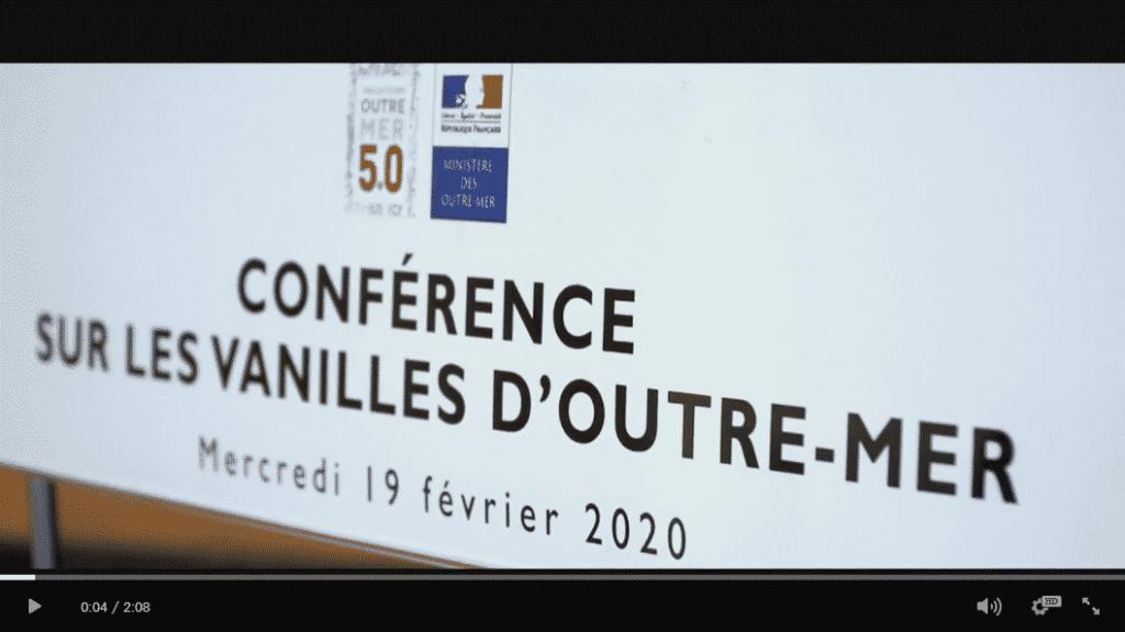 Première conférence sur les vanilles françaises en 2020
