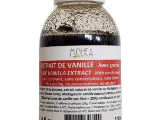 Extzit de vanille avec graines